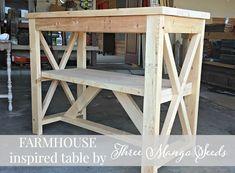 Three Mango Seeds: FARMHOUSE inspired table