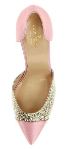 Pink high heels and some glitter - LadyStyle