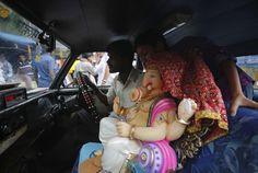 the Hindu festival Ganesh Chaturthi, in Mumbai, India