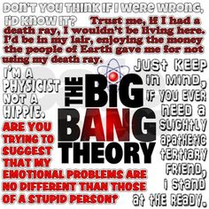 the big bang theory quotes - Google Search