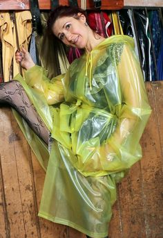 Alexia-yellow Raincoat