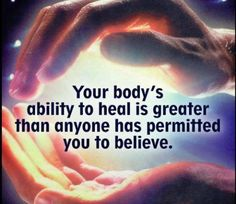 Believe & there shall be no limit to what you can achieve ...