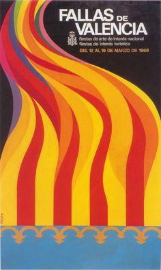 Cartel de Fallas 1968
