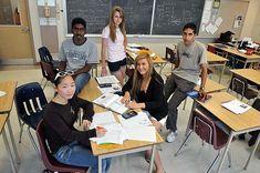 هنــــــا كنـــــــدا: الدراسة الثانوية في كندا تكاليفها وطرق التقديم (الجزء الثاني) Summer School, Ontario, Charity, Toronto, Attitude, Classroom, Education, Diversity, Students