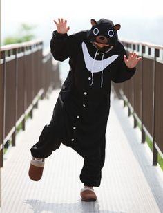 Black Bear Onesie Animal Costumes - 4kigurumi.com  http://www.4kigurumi.com/black-bear-onesie-animal-costumes