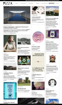 Pizza digitale website