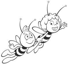 Biene maja malvorlagen 2 kita pinterest ausmalen for Disegni da colorare e stampare ape maia