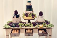 Image by Dottie Photography - Jenny Packham For A Rustic Farm Wedding With A British Botanical Theme And A Horse And Cart With An Incredible Dessert Table By Couture Cakes And Images From Dottie Photography