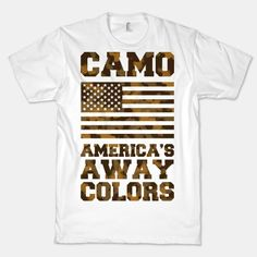 America's Away Colors | T-Shirts, Tank Tops, Sweatshirts and Hoodies | HUMAN  $23 @ lookhuman.com