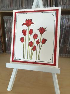 Penny Black Tulips from Garden Flowers