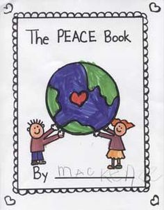 Based on Todd Parr's book, make a Peace book with your students. What does it look like, feel like, smell like (use the 5 senses) Name Activities, Social Studies Activities, Preschool Learning Activities, Autumn Activities, Preschool Crafts, Kindergarten Language Arts, Kindergarten Activities, Remembrance Day Activities, Todd Parr