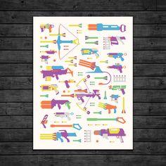 Nerf poster