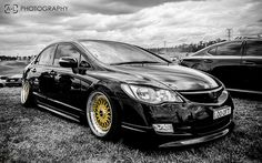 Slammed Honda Civic FD. @Eden Walker There's more of them!