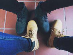 Them Timberlands  😁