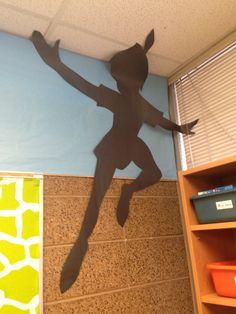 Peter Pan's shadow #Peterpan #classroom