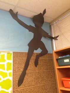 Peter Pan's shadow #Peterpan #classroom