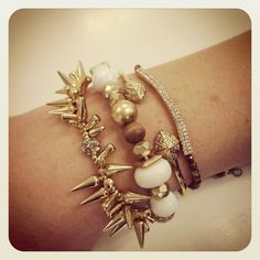 LOVING this arm party!