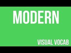 Modern defined - From Goodbye-Art Academy - YouTube