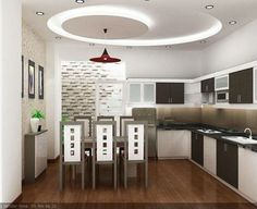 Foto: Top Dreamer #cozinha #luminaria #brancoepreto #paredetexturizada
