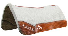Best Ever Pads, Kush Wool - Custom Tooled Leather, Horse Tack, Saddle Pads, Custom, Rodeo, One of a Kind www.BestEverPads.com