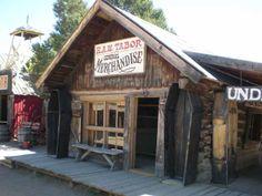 Horace Tabor's general store, originally in Buckskin Joe, Colorado, USA; now in the western movie set and theme park of Buckskin Joe.