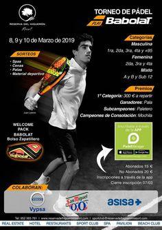 Periodico Digital de Málaga y Provincia – Torneo Babolat en Reserva del Higueron Resort Spas, Social Housing, Town Hall, Prize Draw, Door Prizes, Sports