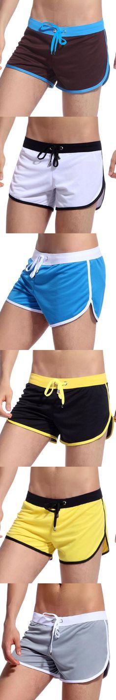 KWAN.Z shorts men bermudas masculina de marca home wear men's casual compression shorts fitness men short masculino moda praia
