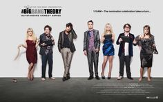 Share in our FYC excitement! Join #TheBigBangTheory post-nomination celebration and share the lineup with friends!