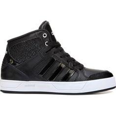 aeaaa761abf adidas Women s Neo Raleigh High Top Sneaker at Famous Footwear Black High  Top Sneakers