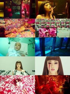 """Mika Ninagawa's second film debut """"Helter Skelter"""" Alphonse Mucha, Color In Film, Sad Movies, Cinematic Photography, Movie Shots, Film Inspiration, Indie, Film Aesthetic, Moving Pictures"""