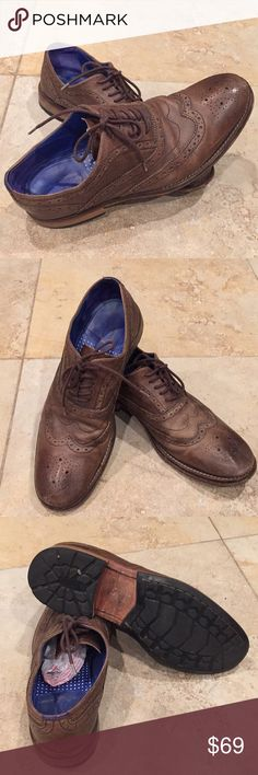 Ted Baker London Man's Leather  Shoe size 10 Used but good condition, Bowen color Ted Baker London Shoes Oxfords & Derbys