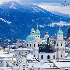 Salzburg, Austria Top 10 Cities in Europe : Condé Nast Traveler Places Around The World, Oh The Places You'll Go, Places To Travel, Places To Visit, Around The Worlds, Travel Destinations, Wonderful Places, Beautiful Places, Temples