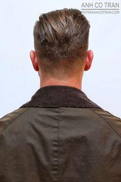 LA: THE BEST MEN'S CUTS ARE AT RAMIREZ|TRAN SALON. Cut/Style: Anh Co Tran.