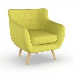 Carson Carrington Tonsberg Mid-century Armchair (Wheatgrass (Green))