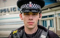 A criminal who spat blood in the face of a police officer has been handed a community order, prompting the local police federation to label the court system a let down to officers. Hot Cops, Men In Uniform, Sexy Men, Hot Men, Police Officer, Captain Hat, Money, Business, Lol Funny