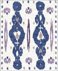 Nice Summer Ikat From Custom Cool Rugs