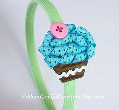Cupcakes Take The Cake: Ribbon Candy Hair Bows