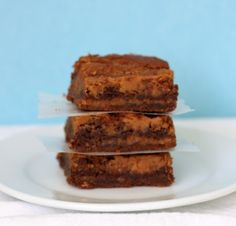 For my sweet tooth which may be the death of me....Nutella peanut butter brownies!!