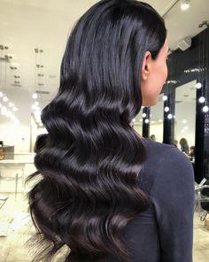 Top 5 wedding hair trends for 2019 - - Wedding Hair Down, Wedding Hairstyles For Long Hair, Formal Hairstyles, Bride Hairstyles, Down Hairstyles, Slick Hairstyles, Wedding Hair And Makeup, Hair Makeup, Slicked Back Hair