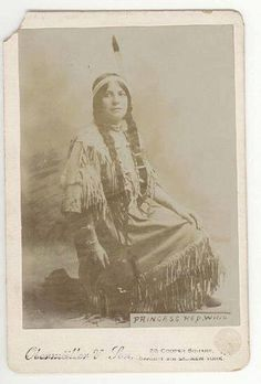 Princess Red Wing was born a member of the Winnebago Nation, in Nebraska. Entering films in 1908, Red Wing was the first Native American actress to become a noted star. http://bit.ly/vZFV5f