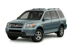 My new baby...a 2006 Honda Pilot!  I LOVE it!
