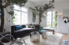 BOTANICAL INSPIRATION: Move Over Fiddle Leaf SF Decorator's Showcase House 2013-Leverone Design