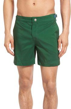 New Pangea El Verde Hemingway Swim Trunks ,AQUA fashion online. [$92]newtstyle top<<