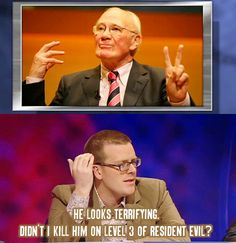 Mock the Week The Funny, Funny Pics, Funny Pictures, Funny Memes, Hilarious, Jokes, Crazy People, Funny People, Funny Things
