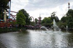 Jardins de Tivoli Gardens - Copenhague, Danemark