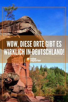 Wow, these 15 places really exist in Germany! - Desert, ice cave, canyon – you think you only see something like this on vacation at the other en - Rhododendron Park, Lofoten, In The Heights, Grand Canyon, Travel Destinations, Road Trip, Places To Visit, Vacation, Photography