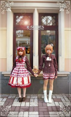 R-series- Thumbelina's tea party (kodona outfit)