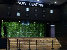 This way to your respective halls pass the serene greenery out the glass screen. At Premium-X Cinemas in One City, USJ!