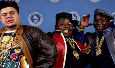 Fat Boys- Not the most lyrical, but were very important for opening doors for hip hop.  Prince Markie Dee, Kool rock Ski, and of course the Human Beat Box!  Stick Em is my favorite from them.  These boys were in a few movies back in the day too.