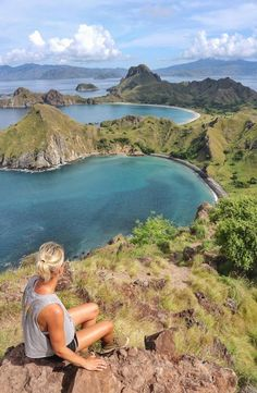Padar Island is a small Indonesian island between the islands Rinca and Komodo, and is a part of the Komodo National Park. Komodo National Park, National Parks, Cheap Web Hosting, Ecommerce Hosting, Backpacking, Islands, Water, Pictures, Travel
